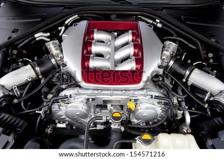 High Performance Car Engine Ez Canvas