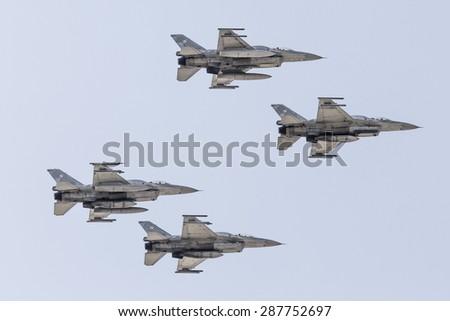 POZNAN, POLAND - JUNE 14: Group formation \