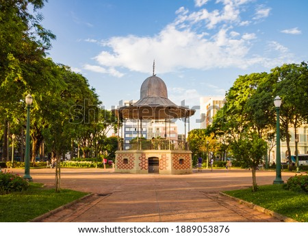 Praça da Liberdade (Liberty Square) Bandstand, Belo Horizonte, Brazil