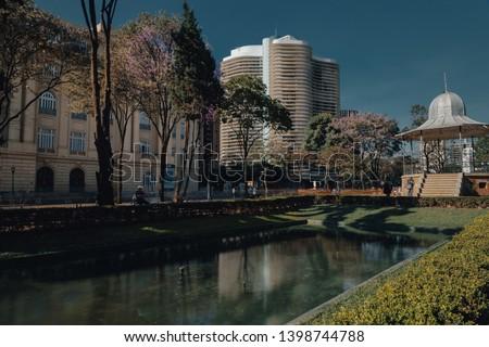 Praça da Liberdade/Liberty Square, in Belo Horizonte, Minas Gerais, Brazil. #1398744788