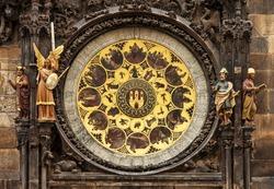 Prague Astronomical Clock or the Prague Orloj.