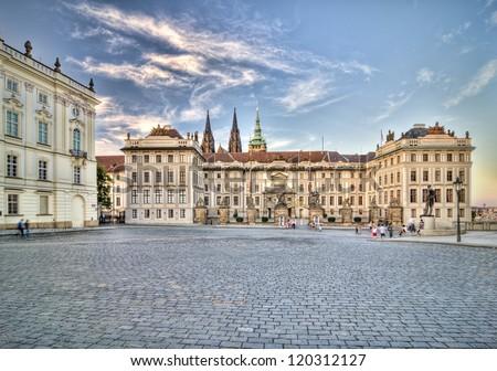 Prague Castle Stock photo ©