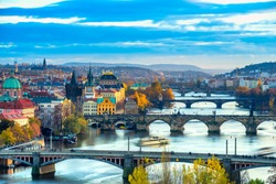 Prague, Charles Bridge and Old Townl. Czech Republic