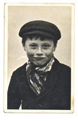 PRAGUE, CZECHOSLOVAK REPUBLIC, CIRCA 1950 - young boy - circa 1950