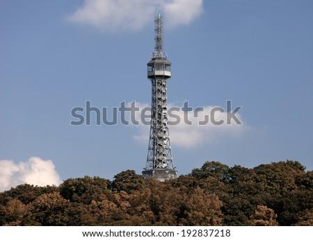 Prague - Lookout Tower on Petrin Hill
