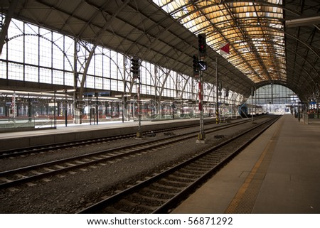 Prague main station - historic building