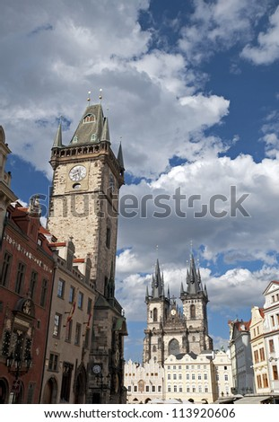 Prague - Old Town Square and buildings