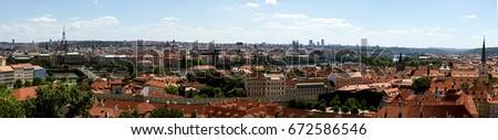 Prague - panorama #672586546