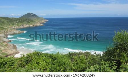 Praia Brava em Arraial do Cabo - RJ Photo stock ©