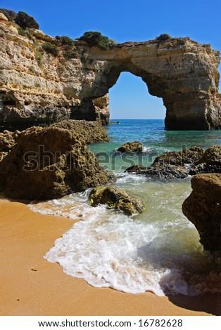 Praia da Albandeira, Algarve Portugal