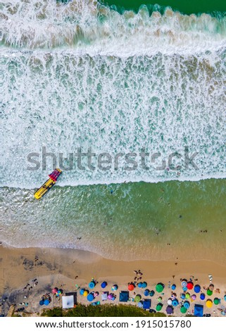 Praia de 4 Ilhas em Bombinhas - Santa Catarina - Brazil - 4 islands Zdjęcia stock ©
