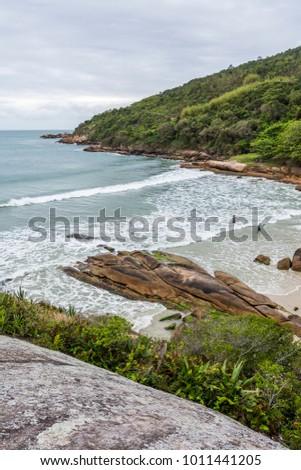 Shutterstock Prainha da Barra in Barra da Lagoa, Florianopolis, Santa Catarina Island, South Brazil