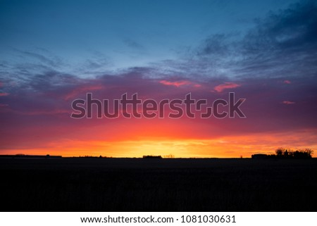 Prairie Morning Sunrise #1081030631