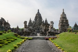Prambanan Temple (Candi Rara Jonggrang), Java, Indonesia