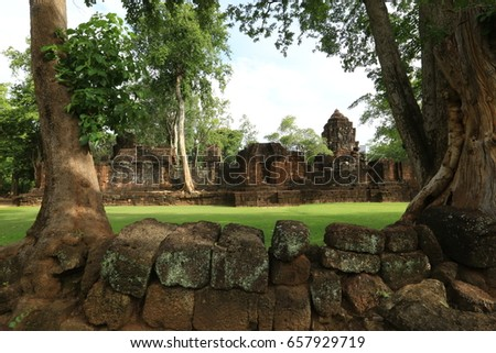Prasatmuangsing , Historical Park , Thailand #657929719