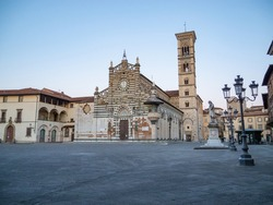 Prato Cathedral (Italian: Duomo di Prato; Cattedrale di San Stefano) is a Roman Catholic cathedral in Prato, Tuscany. It is dedicated to Saint Stephen, the first Christian martyr.