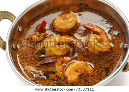prawn curry , indian food