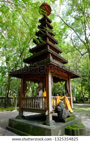 Prayer places for Buddhist, Mendut Temple, old Temple