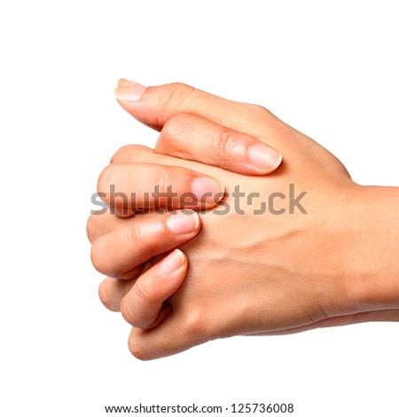 Praying,Two Hands