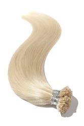 Pre-Bonded Straight Stick Nail Tip (U tip fusion)Platinum Blonde Human Hair Extensions