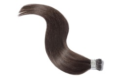 Pre Bonded Straight Stick Tip (i tip fusion)Dark Brown Human Hair Extensions