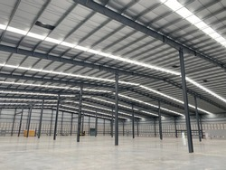 pre frabrication engineering steel structure technology with metal sheet roof, factory buildings in construction