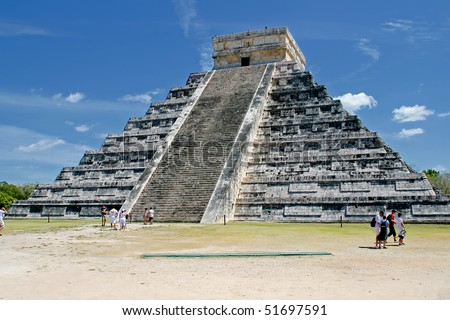 Pre-Hispanic City of Chichen-Itza