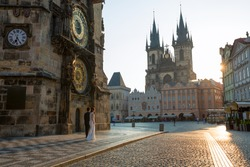 Pre Wedding in Prague (Astronomical Clock)