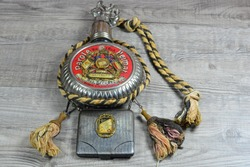 Pre ww1 German military flask and cigarette case