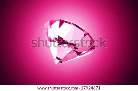 Precious Pink Gemstone