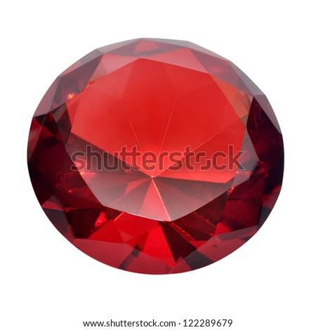 Precious red diamond