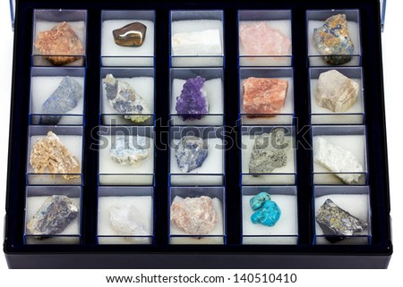 Precious stones collection