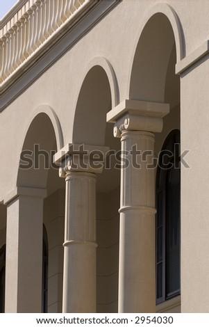 Prefabricated building columns detail stock photo 2954030 for Prefab columns