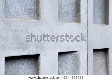 Prefabricated geometrical concrete elements #1344575735