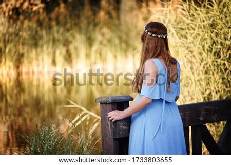 preganant woman waiting a baby Stok fotoğraf ©