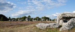 Prehistoric stones at Brittany France