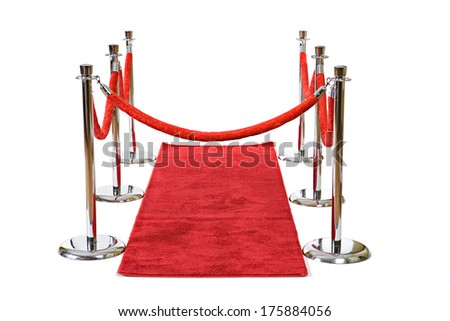 stock photo: red carpet