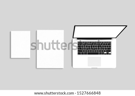 Premium blanks corporate mockup templates to show your design  #1527666848
