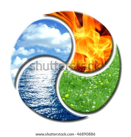 Elements Earth Air Fire Water