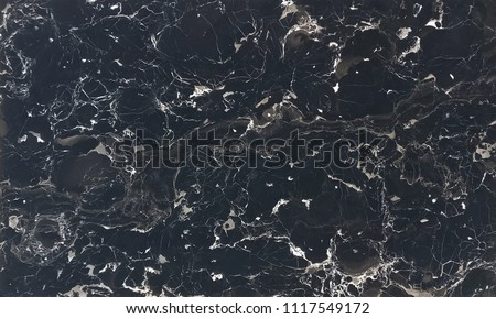 Premium Natural Italian Marble with seamless Black Foil