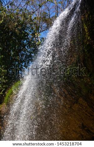 Prenn waterfall, central highlands, Dalat, Vietnam, Southeast Asia, Asia