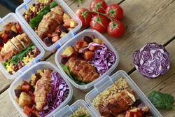Prep meals at home, then eat on the go. Lunch Portion Control Containers. Advance planning and preparing healthy organic meals