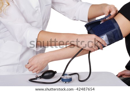 Preparation for blood pressure check-up