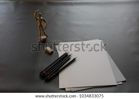 Preparation for drawing and drawing #1034833075