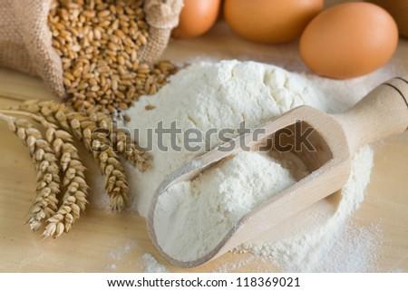 Preparations for homemade baking