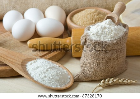 Preparations for homemade baking