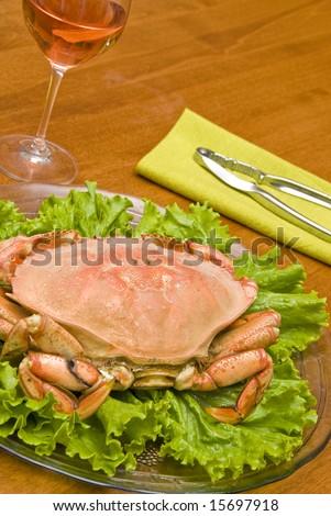 Prepared Dungeness Crab