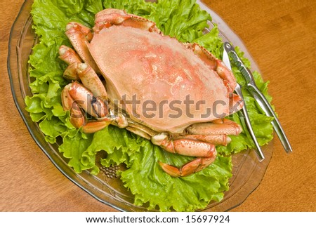 Prepared Dungeness Crab