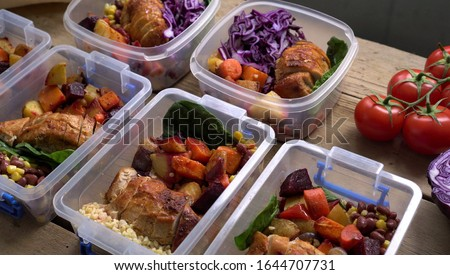 Preparing meals ahead. Lunch Portion Control Containers. Weekend healthy meal prep lunches. Oven-Ready and Pre-Prepped meals. Meal delivery service. Organic produce. Food Storage Bento Box