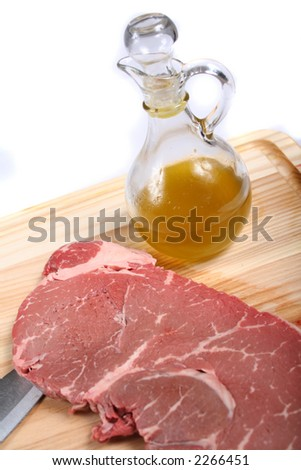Preparing to Cook - Meat Dishes for General Use - Cooking - stock photo